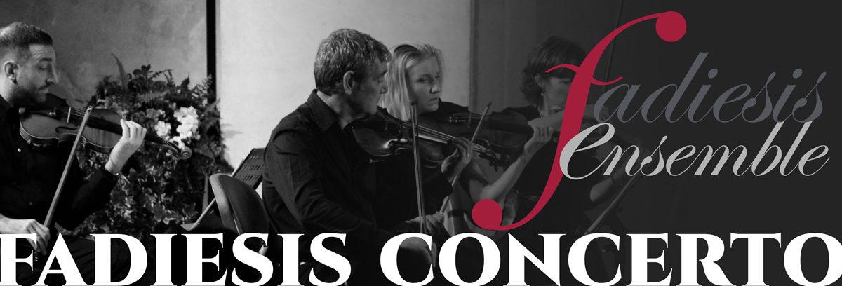 Continua la Rassegna dell'Orchestra da camera Fadiesis