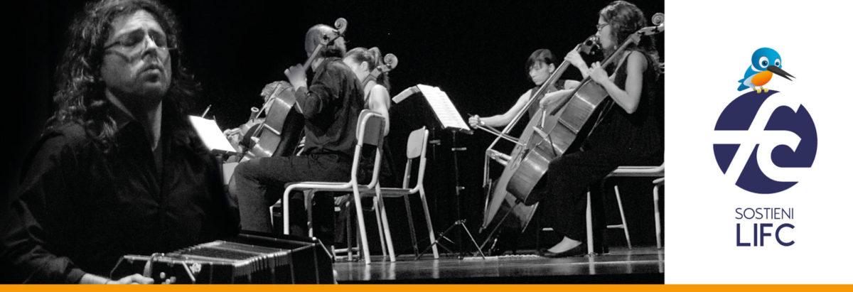 Il bandoneón di Chiacchiaretta e l'Orchestra Fadiesis inaugurano il Festival a Pordenone