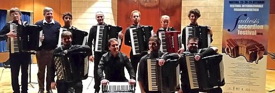 Concerto conclusivo Fadiesis Accordion Festival Matera 2015