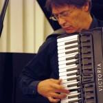 Gianni Fassetta alla fisarmonica