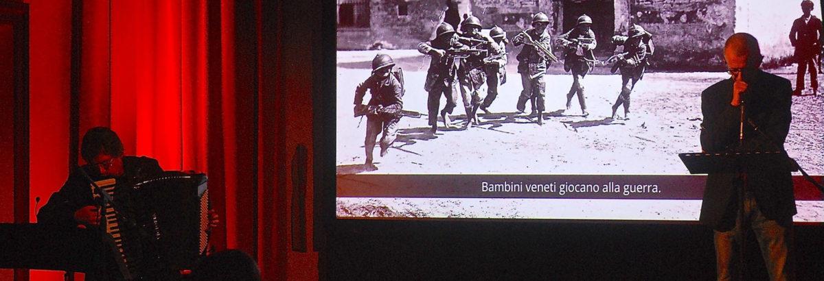 """Il Fadiesis Accordion Festival è """"sbarcato"""" a Capodistria con Non capivamo: la grande guerra degli """"ultimi"""""""