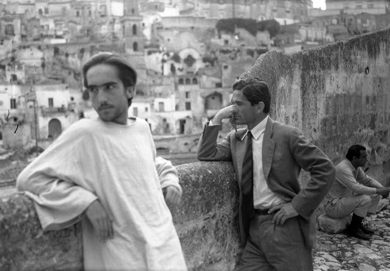 Pasolini a Matera - 1964